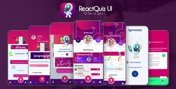 Preview ReactQuizzApp